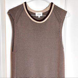 Aritzia Wilfred Sleeveless Knit Top